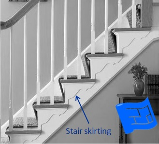 stair skirting
