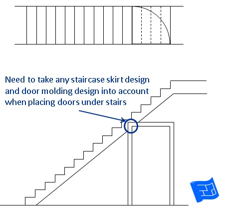 staircase dimensions skirting molding