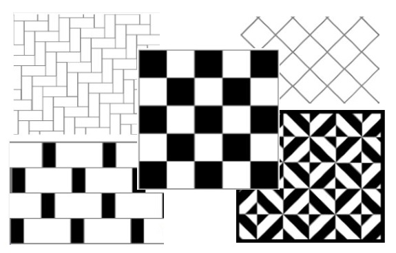 Tile pattern gallery selection