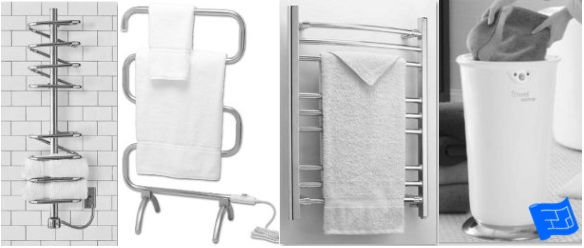 Storage For Drying Towels