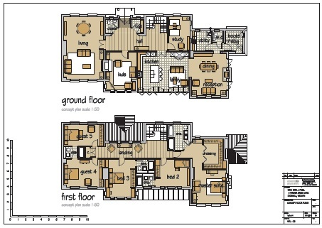 Floor plan design information for Property site plan software