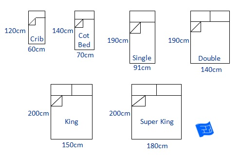 standard american bed sheet sizes space baby mattress size canada chart