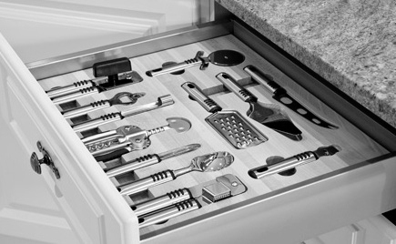 utensil drawer kitchen storage