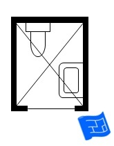 Small Bathroom Floor Plans - Very small bathroom floor plans