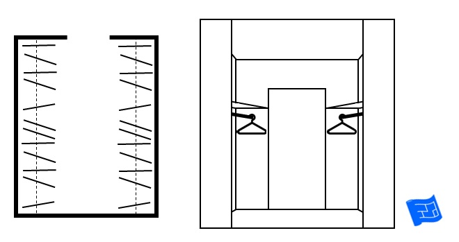 Hanging Cabinet Design For Bedroom